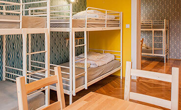 Bed in 8-Bed Dorm